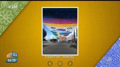 Telespectadores enviam imagens em homenagem à Copa do Mundo - Envie suas imagens para jm@redebahia.com.br.