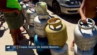 Distribuição de gás de cozinha segue irregular no Recife, uma semana após fim de greve - Greve dos caminhoneiros afetou abastecimento em revendedoras