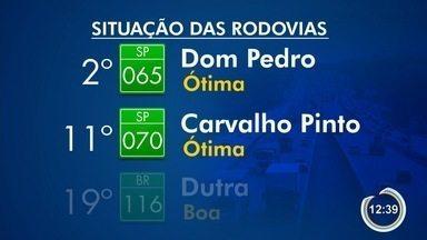 CNT divulgou novos dados sobre as rodovias - Dom Pedro é o 2º melhor corredor avaliado.
