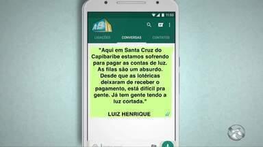 'Você no ABTV' mostra problemas em Caruaru e Santa Cruz do Capibaribe - Há problemas de pavimentação e de pagamento na conta de luz.