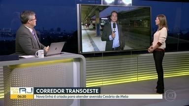BRT cria nova linha pra suprir fechamento de estações - Estações foram fechadas na Avenida Cesário de Melo.
