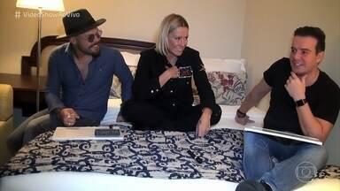 Marcos e Belutti fazem teste de amizade - Dupla se diverte com quiz sobre o parceiro musical.