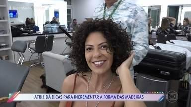 Fabiula Nascimento mostra transformação para segunda fase de Cacau - Atriz conta que adora o look natural de sua personagem em 'Segundo Sol'