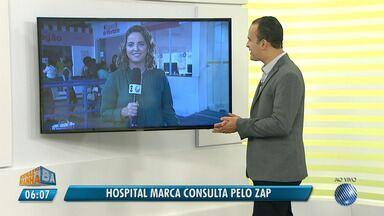 Hospital Martagão Gesteira começa a aceitar marcações de exames pelo WhatsApp - Veja quais consultas já podem ser marcadas.
