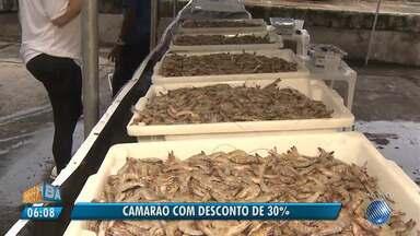 Oportunidade: camarão é vendido com desconto de 30% na Ribeira - Veja como aproveitar a promoção.