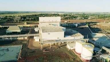 Complexo industrial de soja é inaugurado em Campo Grande - A unidade, maior da América Latina, vai ter capacidade de produção de 50 mil toneladas por ano.
