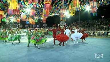 Primeiro dia de apresentações de quadrilhas no Arraiá da Mira é marcado pela animação - As quadrilha juninas são os principais atrativos do Arraial que acontece na cidade de Imperatriz.
