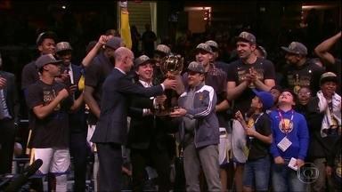 Golden State Warriors é campeão na NBA - Golden State Warriors é campeão na NBA