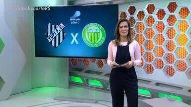 Globo Esporte RS - Bloco 3 - 09/06/2018 - Assista ao vídeo.