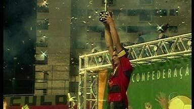 Dez anos depois, lembre a trajetória do Sport campeão da Copa do Brasil de 2008 - Dez anos depois, lembre a trajetória do Sport campeão da Copa do Brasil de 2008