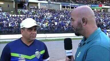 Marcelo Cabo comenta a expectativa para o clássico contra o CRB - Técnico do CSA fala sobre o jogo contra o arqurrival