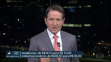 Tarifa de água vai subir em SP - Mudança vai ser na Capital e em municípios da Região Metropolitana atendidos pela Sabesp.