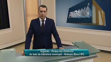 Segunda tem Redação Móvel RPC no Parque das Palmeiras - Você vai poder saber se a sua TV já tem sinal digital