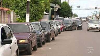 Motoristas compram gasolina pela metade do preço no Feirão do Imposto em Santarém - O Feirão do Imposto foi uma alternativa para poupar dinheiro.