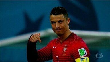 O cara da Copa? Pedro Bassan acredita que o português Cristiano Ronaldo - Para jornalista, craque da Selacao Portuguesa vai se destacar no Mundial
