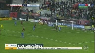 Ponte Preta vence o Brasil de Pelotas pela Série B do Brasileiro - Confira os gols da partida.