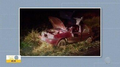 Mulher morre após capotamento na Rodovia Assis Chateaubriand - Acidente ocorreu em trecho de Martinópolis.
