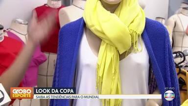 Dicas de moda para a Copa do Mundo - Especialistas mostram como se vestir bem sem gastar muito para torcer pelo Brasil.