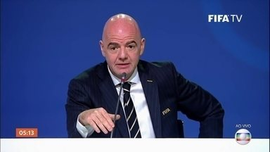 Fifa decide a sede da Copa do Mundo de 2026 - Fifa decide nesta quarta se Copa de 2026 será no Marrocos ou na América do Norte