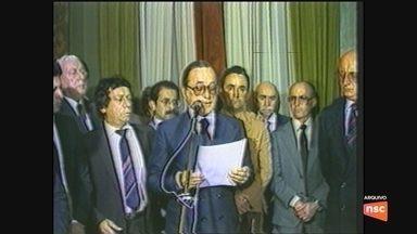 Morre o ex-governador de SC Antônio Carlos Konder Reis - Morre o ex-governador de SC Antônio Carlos Konder Reis