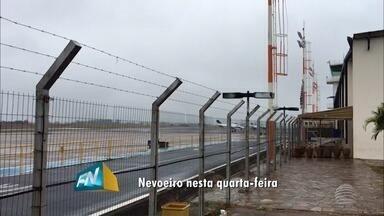 Nevoeiro provoca reflexos no Oeste Paulista nesta quarta-feira - Condições climáticas interferiram no funcionamento do aeroporto de Presidente Prudente.