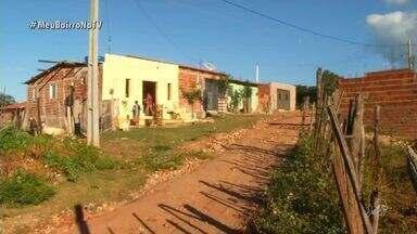 Meu Bairro na TV visita o Bairro Pantanal no Crato - Bairro passa por problemas de saneamento e falta de energia.