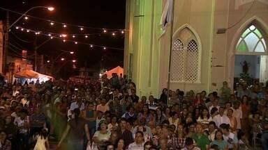 Católicos celebram último dia da Trezena - Evento é feito em homenagem a Santo Antônio.