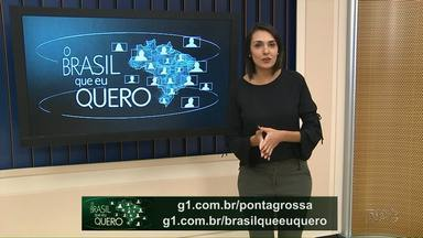 O que você espera para o futuro do Brasil? Grave um vídeo e mande pra gente! - Veja como fazer para que seu vídeo represente a sua cidade.