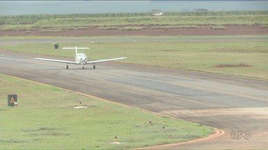 Direção do aeroporto de Maringá anuncia licitação para ampliação e reforma - As obras vão possibilitar a operação de voos por instrumentos.