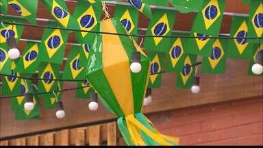 JPB2JP: O verde e o amarelo se espalham pelas ruas da Capital - Expectativa para a Copa do Mundo da Rússia.