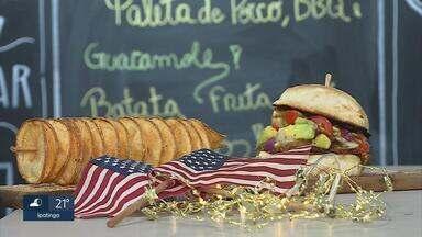 Feira reúne diferentes gastronomias em Belo Horizonte - Comidas típicas de vários países podem ser encontradas