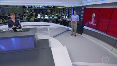 Jornal da Globo – Edição de quarta-feira, 13/06/2018 - As notícias do dia com a análise de comentaristas, espaço para a crônica e opinião.