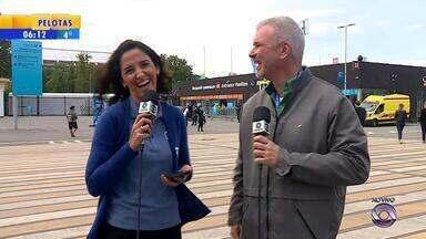 Alice Bastos Neves e Maurício Saraiva falam sobre cerimônia de abertura da Copa do Mundo - Assista ao vídeo.