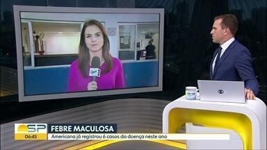 Americana está em estado de alerta por causa da febre maculosa - Cidade já registrou seis mortes por conta da doença, que é transmitida pelo carrapato.