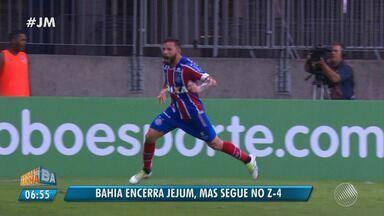 Bahia vence, quebra jejum, mas continua na zona de rebaixamento do Brasileirão - Confira as notícias do tricolor baiano.