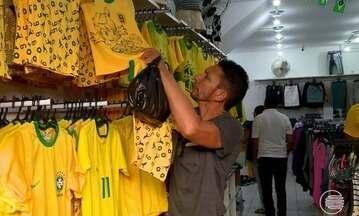 Copa do Mundo aquece economia e altera horários no comércio da capital - Copa do Mundo aquece economia e altera horários no comércio da capital