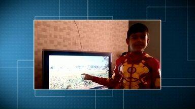 O Paraná TV volta já - Telespectadores mandam vídeo chamando intervalo comercial.