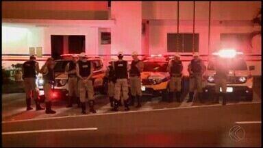 Operação para coibir ataques a bancos é realizada em cidades do Centro-Oeste MG - Ações são realizadas em Cláudio, São Gonçalo do Pará, Carmo do Cajuru e Divinópolis nesta quinta-feira (14).
