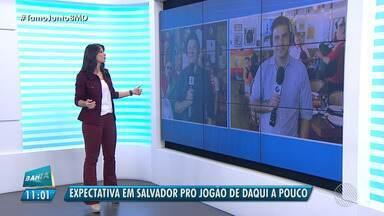 É Copa: comunidades de Portugal e Espanha falam sobre o clássico desta sexta (15) - Salvador tem duas grandes comunidades de espanhóis e portugueses.