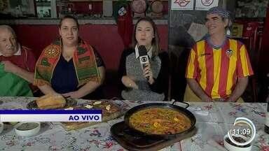 Torcidas se reúnem para jogo entre Portugal e Espanha na Copa do Mundo - Duelo é um dos mais esperados da primeira rodada do mundial.