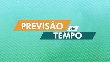 Confira a previsão do tempo para o oeste e sudoeste do Paraná - Fim de semana deve ser de temperaturas baixas.