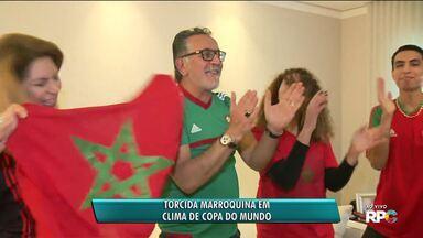 Torcida marroquina entra na Copa do Mundo - Seleção do Marrocos enfrenta o Irã.