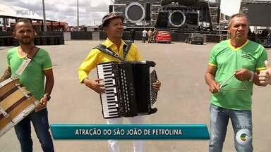 Raimundinho do Acordeon se apresenta nesta sexta no São João de Petrolina - Show do sanfoneiro é uma das atrações da festa.