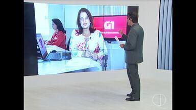 Confira as notícias do G1 nesta sexta-feira (15) - Travesti é baleada por agente penitenciário em Montes Claros.