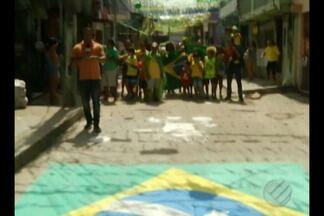 Paraenses estão animados para os jogos da Copa do Mundo - Ruas estão enfeitadas e festas programadas para os jogos da Seleção Brasileira