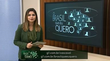 Que Brasil você quer para o futuro? - Os moradores de Campo Bonito podem representar a cidade para todo Brasil. É só enviar um vídeo de até 15 segundos para o site da campanha.