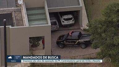 Empresas em Belo Horizonte são alvos de operação da Polícia Federal - Ação na capital e em Nova Lima teve a participação da Receita Federal e da Controladoria-Geral da União