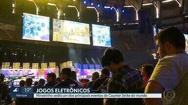 Belo Horizonte sedia um dos principais eventos de jogos eletrônicos do mundo - Equipes de jogos de tiro se enfrentam em primeira disputa na América do Sul.