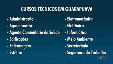 Estão abertas as inscrições para os cursos técnicos nas escolas estaduais de Guarapuava - As inscrições vão até o dia 21/06.