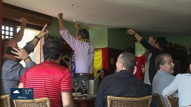 Comunidade portuguesa e espanhola deixam rivalidade de lado para assistir a jogo da Copa - Jogo desta sexta-feira (15) terminou em empate em Sochi, na Rússia.